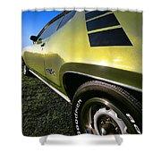 1971 Plymouth Gtx Shower Curtain by Gordon Dean II
