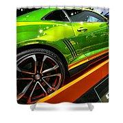 2012 Chevy Camaro Hot Wheels Concept Shower Curtain by Gordon Dean II