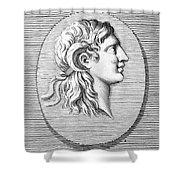 ALEXANDER THE GREAT (356-323 B.C.) Shower Curtain by Granger