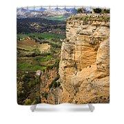 Andalusia Landscape Shower Curtain by Artur Bogacki