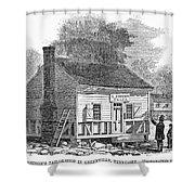 Andrew Johnson: Tailor Shower Curtain by Granger