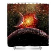 Artist Concept Illustrating The Stellar Shower Curtain by Mark Stevenson