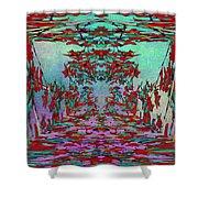 Autumn Flourish Shower Curtain by Tim Allen