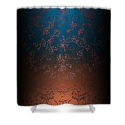 Beyond Lava Lamps Shower Curtain by Christopher Gaston