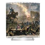 Bristol: Reform Riot, 1831 Shower Curtain by Granger