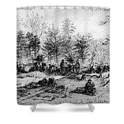 Civil War: Spotsylvania Shower Curtain by Granger