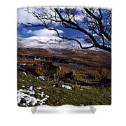 Comeragh Mountains, County Waterford Shower Curtain by Richard Cummins