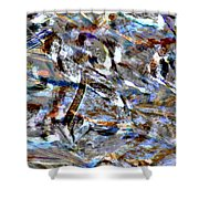 Digital Fall Shower Curtain by LeeAnn McLaneGoetz McLaneGoetzStudioLLCcom