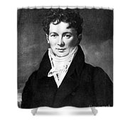 François Magendie, French Physiologist Shower Curtain by Science Source