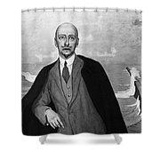 Gabriele Dannunzio Shower Curtain by Granger