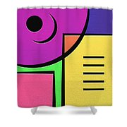 Games Shower Curtain by Ely Arsha