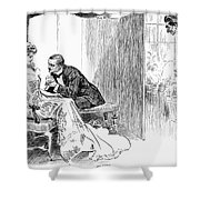 Gibson: Gibson Girl, 1903 Shower Curtain by Granger