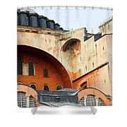 Hagia Sophia Byzantine Architecture Shower Curtain by Artur Bogacki