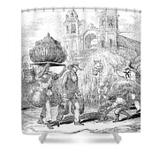 Havana, Cuba, 1853 Shower Curtain by Granger