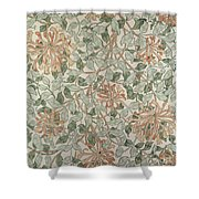 Honeysuckle Design Shower Curtain by William Morris