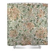 Honeysuckle Design Shower Curtain by William Morris
