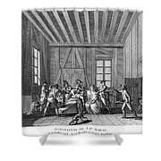 Jean-paul Marat (1743-1793) Shower Curtain by Granger