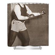 Jess Willard (1883-1968) Shower Curtain by Granger