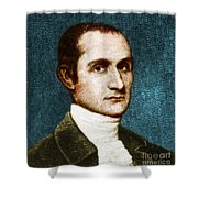 John Jay, American Founding Father Shower Curtain by Photo Researchers