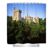 Lismore Castle, Co Waterford, Ireland Shower Curtain by The Irish Image Collection