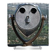 Look Into My Eyes Shower Curtain by Ernie Echols