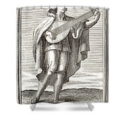 LUTE, 1723 Shower Curtain by Granger