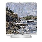 Maine: Mount Desert Island Shower Curtain by Granger