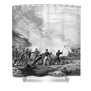 Mexican War: Palo Alto Shower Curtain by Granger