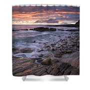 Mullaghmore Head, Co Sligo, Ireland Shower Curtain by Gareth McCormack
