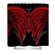 Nanocyte Shower Curtain by Christopher Gaston