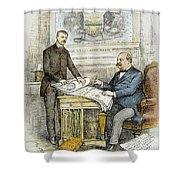 Nast: Civil Service Reform Shower Curtain by Granger