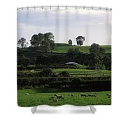 Navan Fort, Co. Armagh, Ireland Shower Curtain by The Irish Image Collection