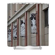 New York Mets Of Old Shower Curtain by Rob Hans