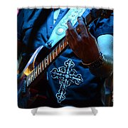 Night Moves Shower Curtain by Bob Christopher