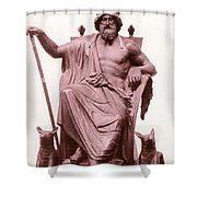 Odin, Norse God Shower Curtain by Photo Researchers