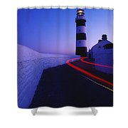 Old Head Of Kinsale, Kinsale, County Shower Curtain by Richard Cummins