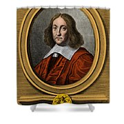 Pierre De Fermat, French Mathematician Shower Curtain by Photo Researchers, Inc.