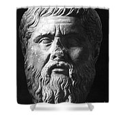 Plato (c427 B.c.-c347 B.c.) Shower Curtain by Granger