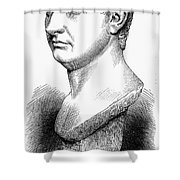 Pompey The Great Shower Curtain by Granger