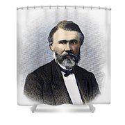 Richard Jordan Gatling Shower Curtain by Granger