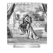 Romeo & Juliet Shower Curtain by Granger