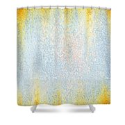 Rusty background Shower Curtain by Carlos Caetano