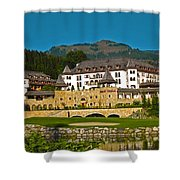 Spa Resort A-rosa - Kitzbuehel Shower Curtain by Juergen Weiss