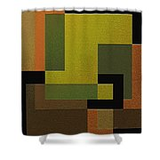Strength Shower Curtain by Ely Arsha