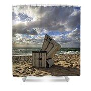 Sylt Shower Curtain by Joana Kruse
