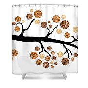 Tree Branch Shower Curtain by Frank Tschakert