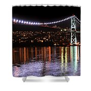 Vancouver British Columbia 5 Shower Curtain by Bob Christopher