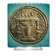 Zoroastrian Fire Altar Shower Curtain by Photo Researchers