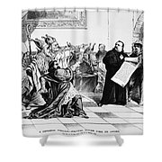 Grover Cleveland Shower Curtain by Granger