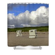 Sylt Shower Curtain by Joana Kruse